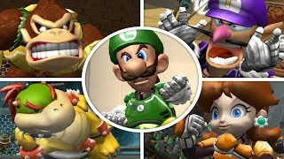 Mario Strikers Charged - All Character Intros