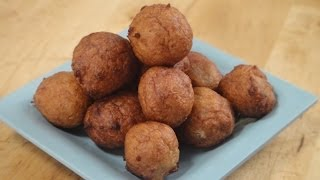 Coconut and Banana Fritters