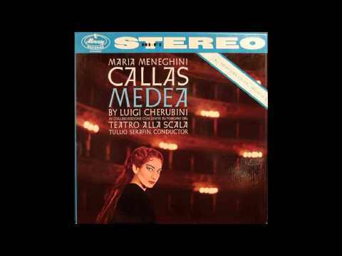 Callas, Picchi,Scotto - Medea 1957 Studio Stereo Best Sound! Act 1