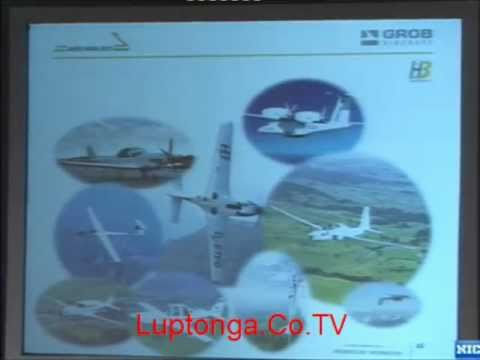 Aircraft manufacturing using low pressure composites - Grob Aircraft AG, Germany [Aero India 2011]