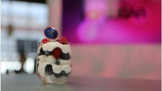 Healthy Mixed Berry Trifle For 4th Of July! | Healthy Recipes