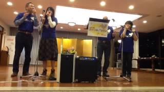 11月7日 花菱ホテル ロビーコンサートにて.