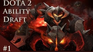 DOTA 2 Ability Draft Pub with Mythic and BuildBreaker - Sniper with Essence shift = OP