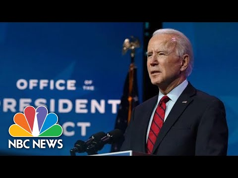 Biden Delivers Remarks On Covid Vaccine Plan | NBC News