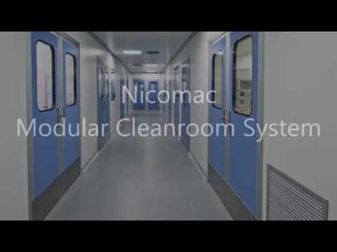 Modular Cleanrooms Nicomac