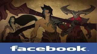 If league of legends Champions had Facebook #75 (Kayn and Ahri)