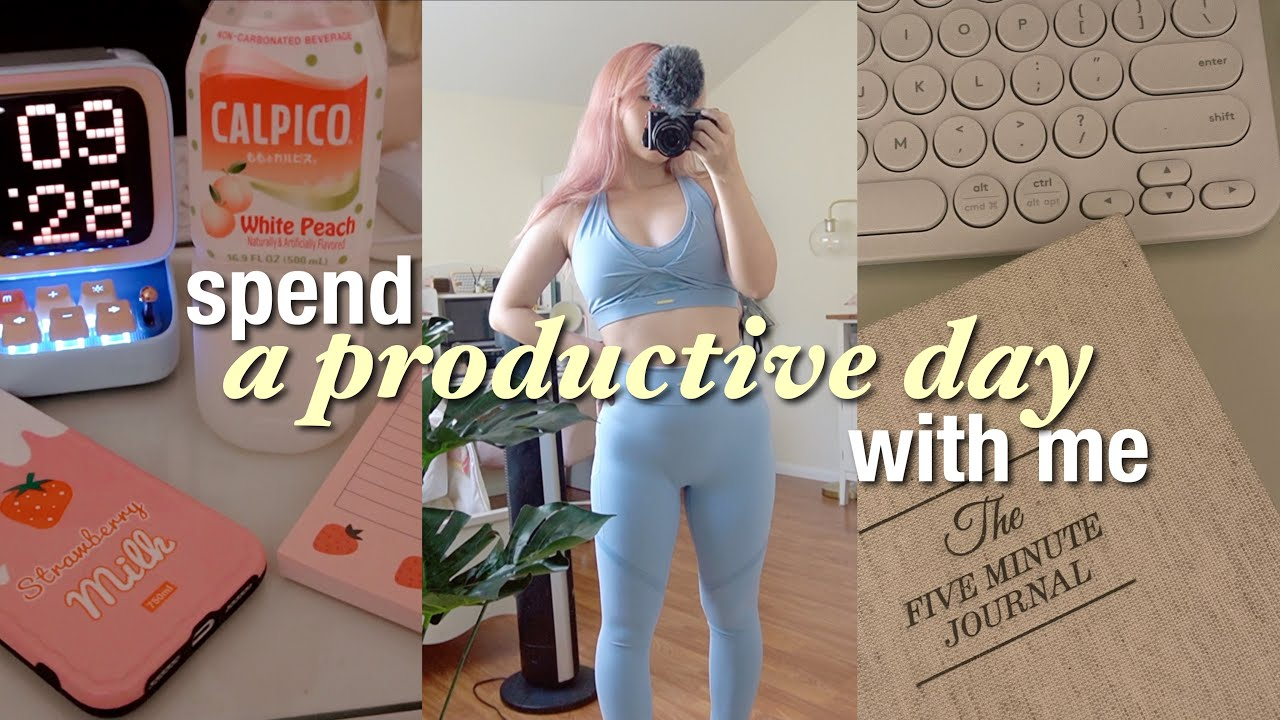 spend a productive day with me