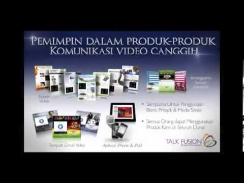 Presentasi Online  Talk Fusion Serpong Indonesia