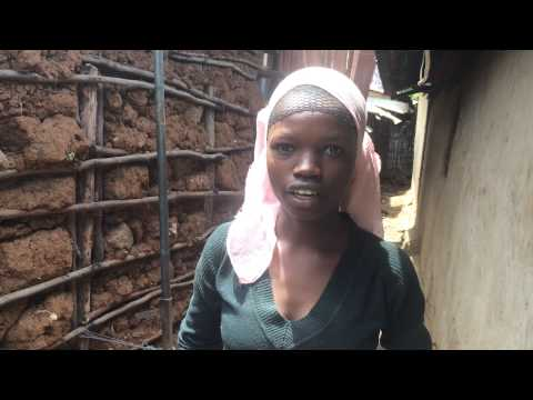 Interview with young girl from Kibera Slum