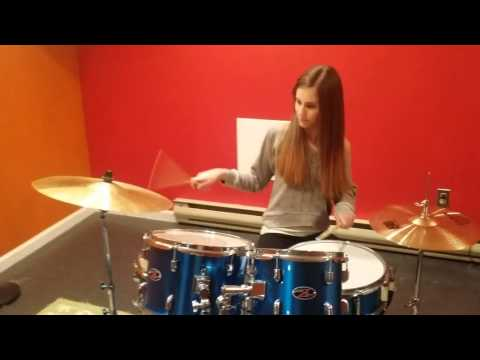 One of my Students Andi made a drum cover video to Melodies by Madison Beer. Hope you all enjoy our video!