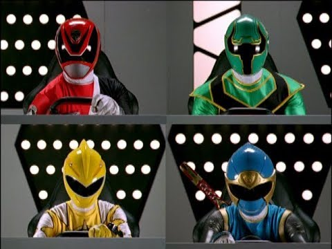 Power Rangers Operation Overdrive - Once a Ranger - Megazord Fight (Episode 21)