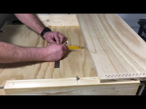 003 - Make a Bar Stool Carving Jig for Your Tablesaw