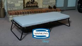 Simmons Portable Guest Bed   Twin Size