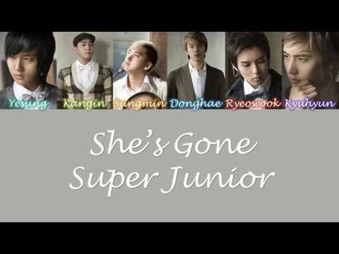 Download lagu Super Junior She's Gone Lyrics Mp3 terbaik