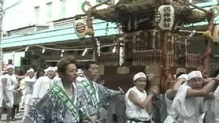 居神神社 小田原北条5代祭り 201005.03①