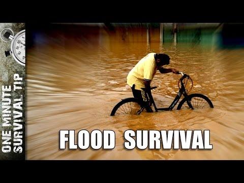 Flood Survival - one minute survival tip