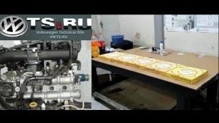 Сборка двигателя 1.4 TSI CTH