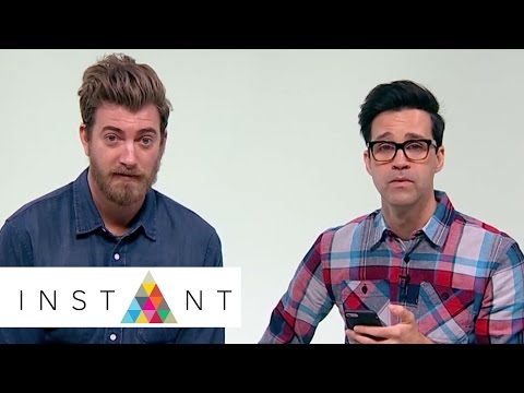Rhett & Link Read And Respond To Fan Tweets About 'Book Of Mythicality' | Superfan Soapbox | INSTANT