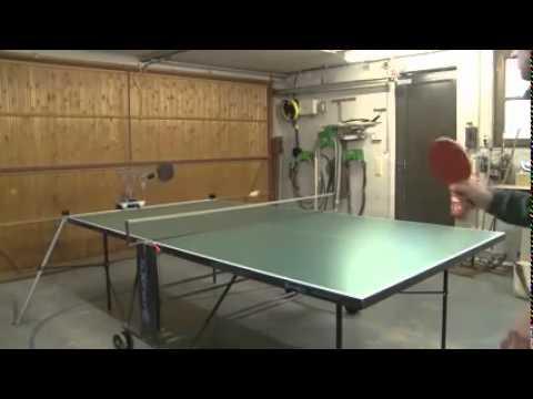 תוספת טניס שולחן (פינג-פונג) עם זרוע רובוטית - YouTube XD-03