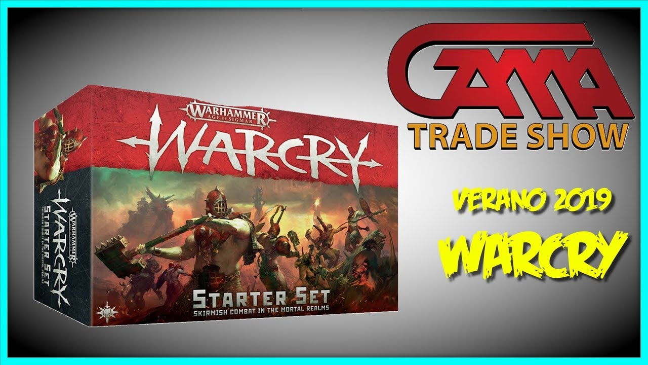 WARCRY - STARTER SET - GAMMA TRADE SHOW 2019 - YouTube