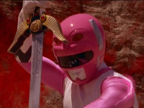 power rangers lost galaxy end of the pink galaxy ranger power of