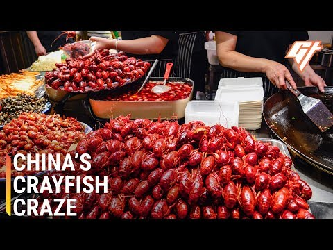 How Louisiana Crayfish Became China's National Dish