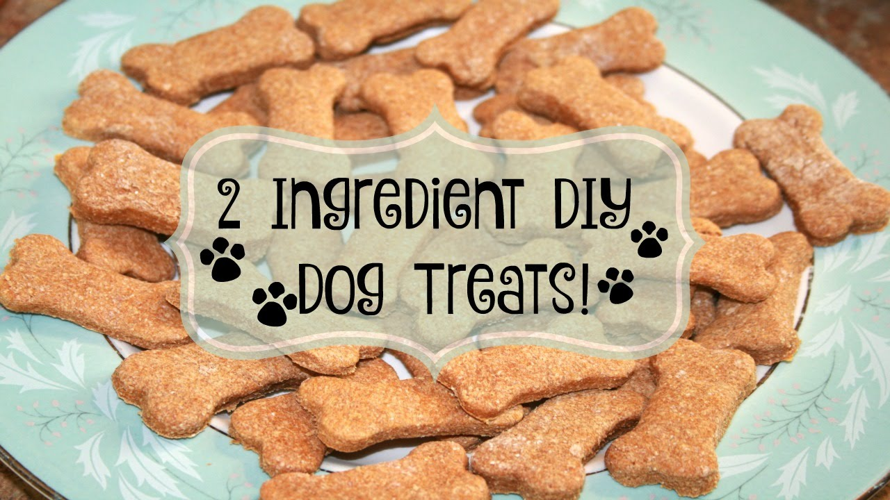 2 Ingredient Diy Dog Treats