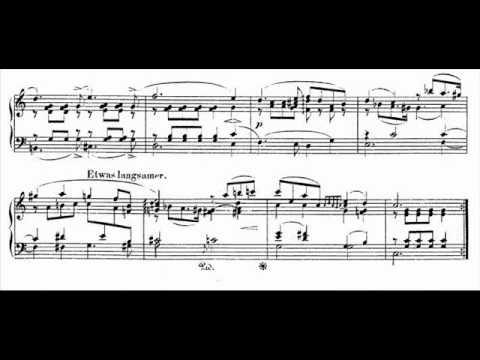 Jörg Demus plays Schumann Album für die Jugend Op.68 - 21. * * *