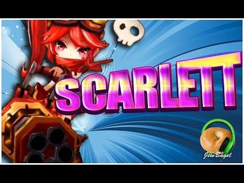 Summoners War Scarlett The Fire Cannon Girl