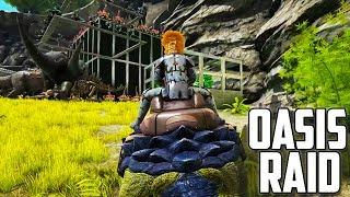 RAIDING FROM ABOVE! | BRONTO RAID | Ark: Survival Evolved.