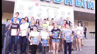 Окончание учебного года 2017-2018 Торжественная линейка СШОР №3 Калининского района