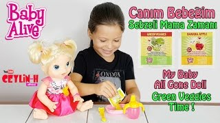 Video Baby Alive Canım Bebeğim Sebzeli Mama Zamanı - My Baby All Gone Doll Green Veggies Time download MP3, 3GP, MP4, WEBM, AVI, FLV November 2017
