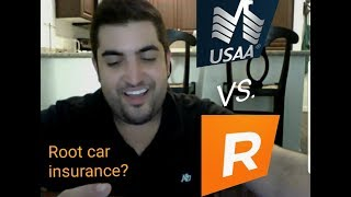 USAA vs Root Car Insurance + Root saved me from a ticket.