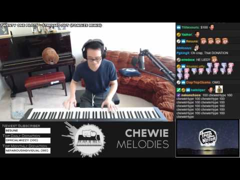 Twenty One Pilots - Stressed Out Tomsize Remix Piano Playover Cover