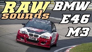 RAW sounds - BMW E46 M3 - Top speed fly-by