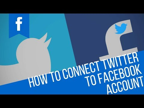 How to Auto Post From Twitter to Facebook  | How to Connect twitter to facebook Account