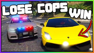 GTA 5 Roleplay - LOSE THE COPS, WIN A LAMBO | RedlineRP