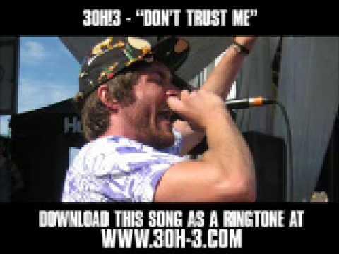 3OH!3 - Don't Trust Me [ Music Video + Lyrics + Download ]