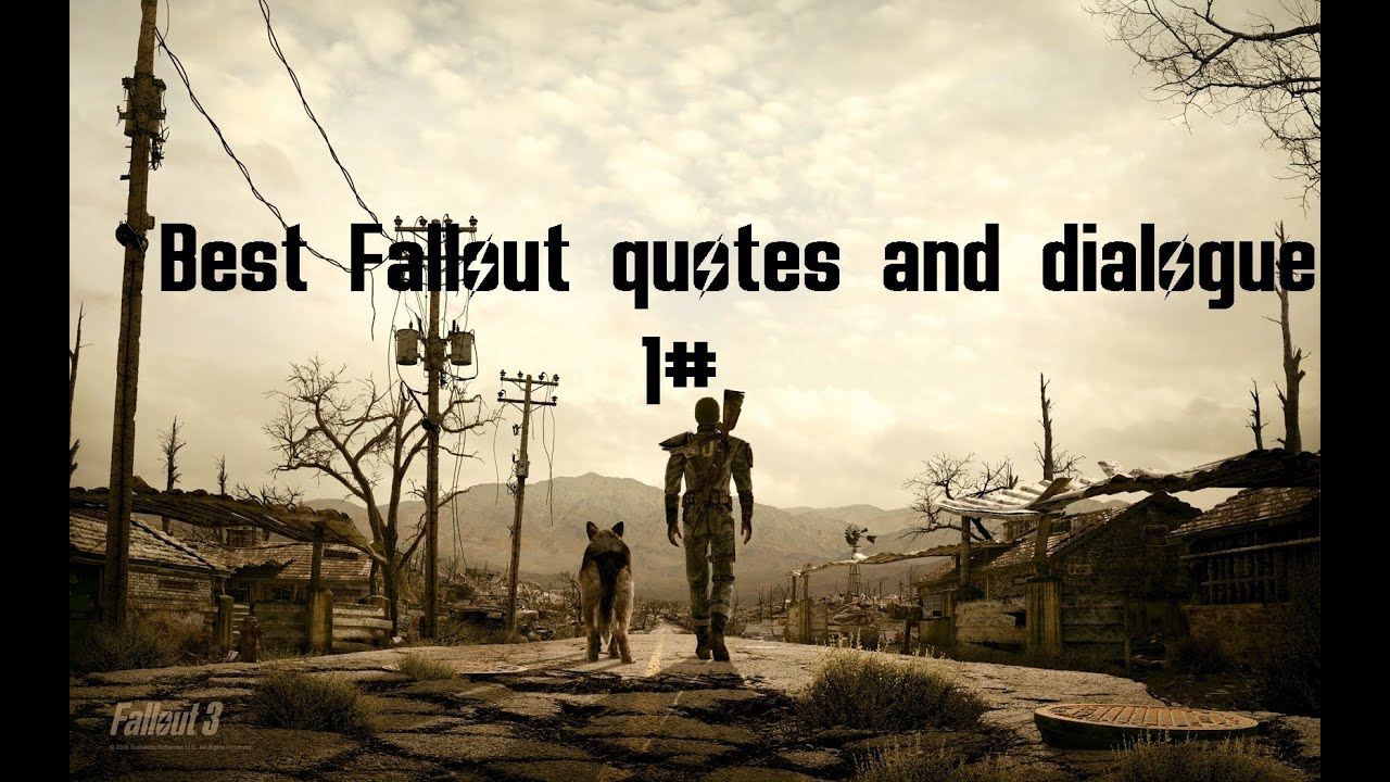 War Never Changes Quote