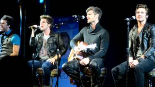 "Gambar cover Anthem Lights sings ""My Jesus I Love Thee"" on the Karen Kingsbury Cruise 2012"