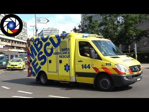 Ambulance + SMUR Genève // Geneva EMS response