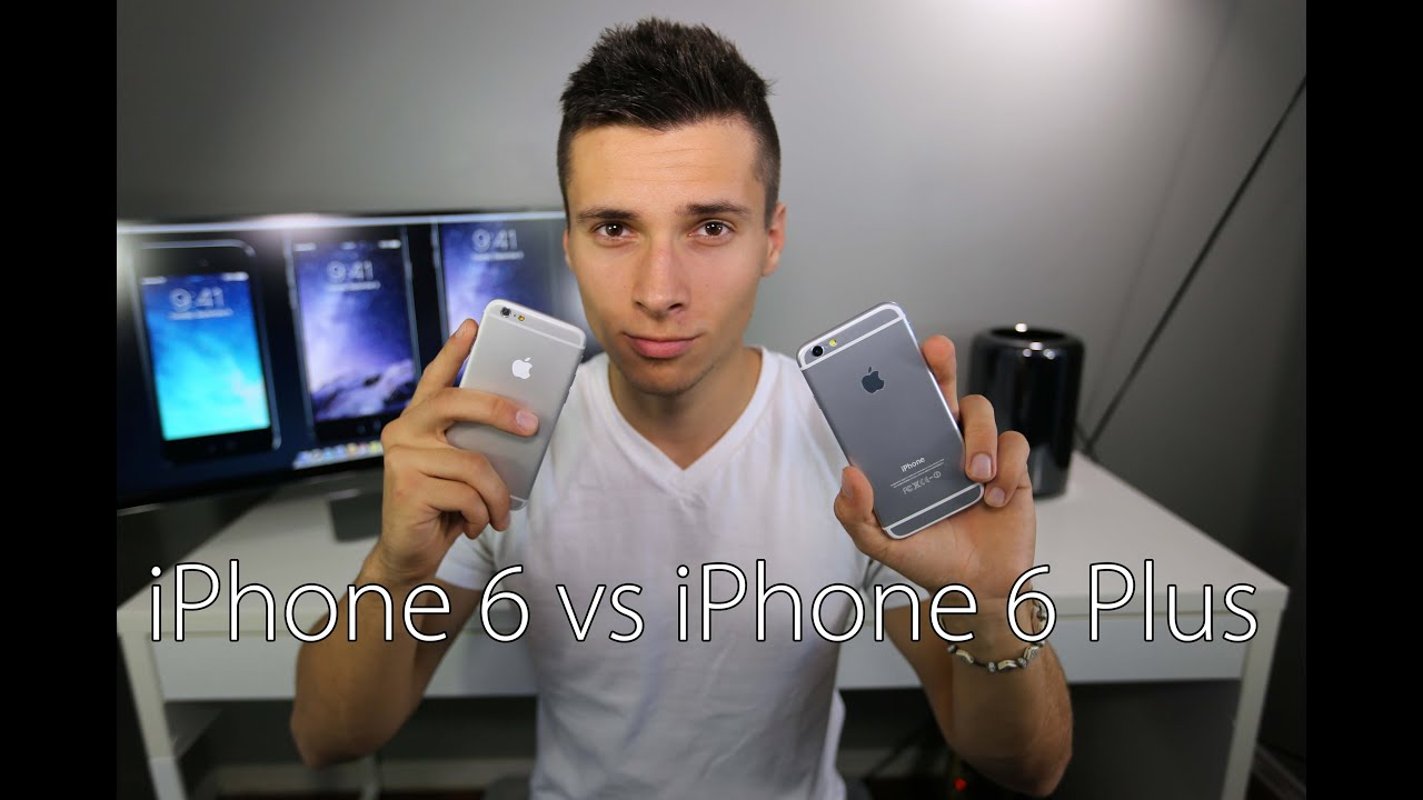 iphone 6 vs iphone 6 plus which should you buy youtube. Black Bedroom Furniture Sets. Home Design Ideas