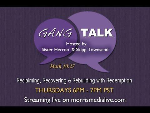 Gang Talk Radio SPECIAL GUEST: ACTOR HARRY LENNIX 1-05-17