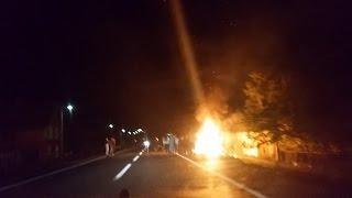 Policija i vatrogasci noćas u Vukojevcima imali pune ruke posla - Video