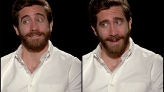 Jake Gyllenhaal on licking stamps and working daily on his patience