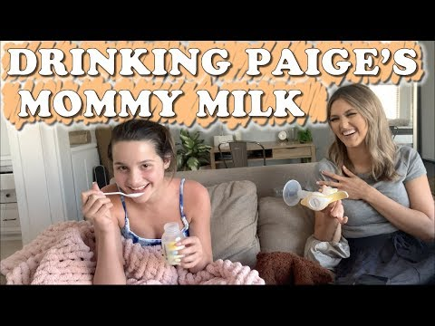 Drinking Paige's Mommy Milk (WK 440) Bratayley