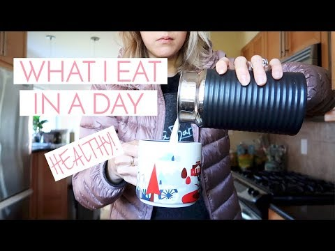 WHAT I EAT IN A DAY (HEALTHY VERSION) | VICI LOVES