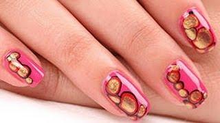 Видео маникюр. Дизайн коротких ногтей(Видео маникюр