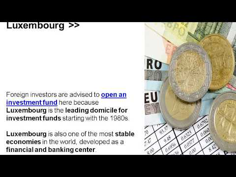 Why Open an Investment Fund in Luxembourg?