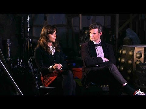 Matt Smith and Jenna Coleman on The Time of the Doctor - Doctor Who Christmas Special 2013 - BBC One